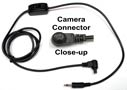 Shutter Release Cable for Canon — 3 Pin — N3 Connector to Pocket Wizards